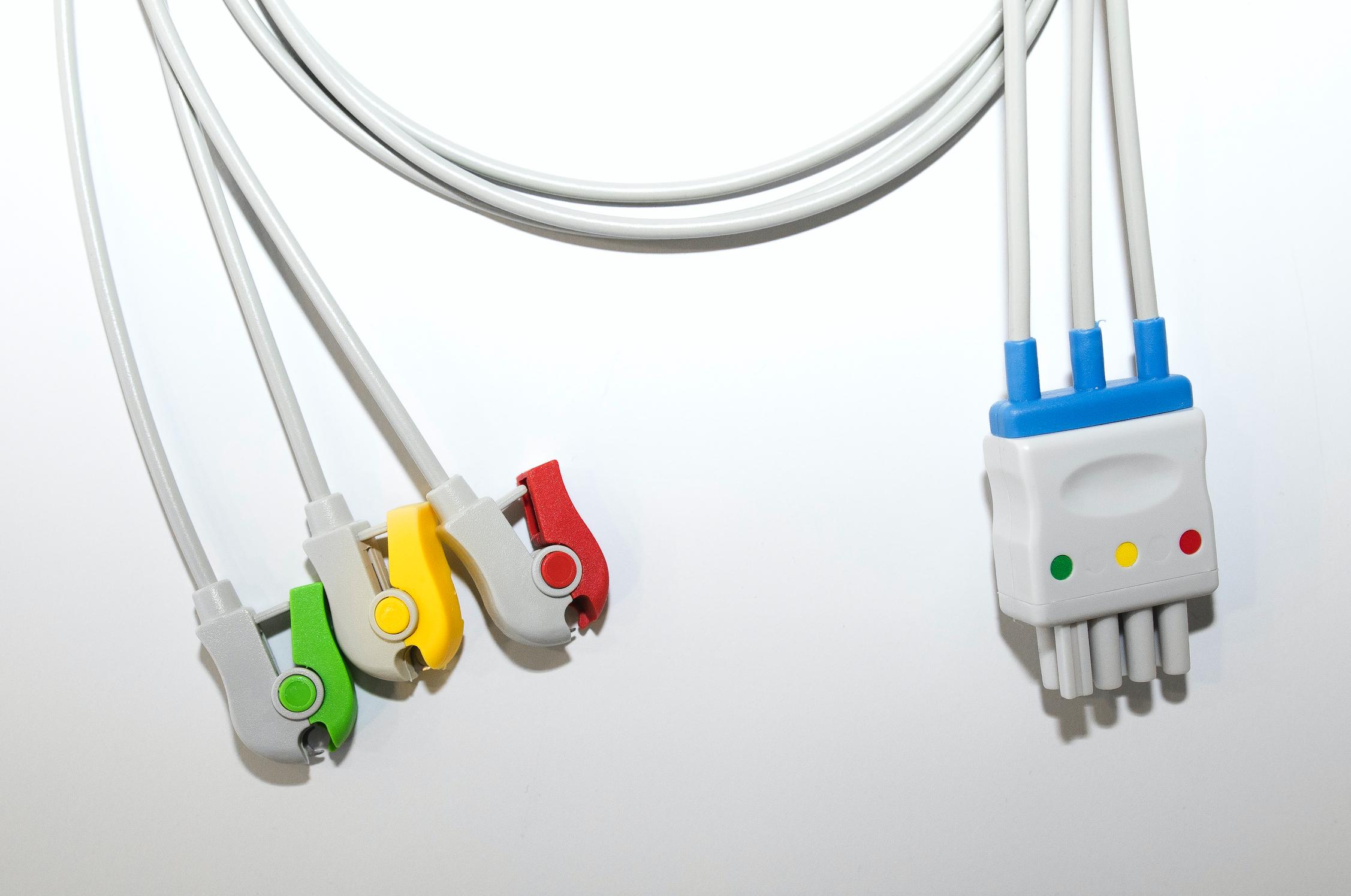 EKG-Kabel für Nihon Koden, 3fach-Ableitung