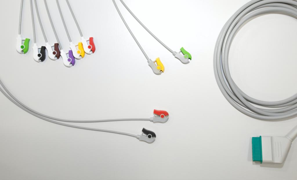 EKG-Kabel für Nihon Kohden, 10fach-Ableitung
